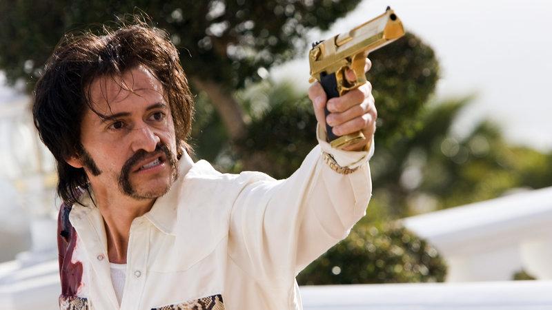 Gang Boss El Huron (Clifton Collins Jr.) – Bild: Photo Credit: Justin Lubin, Lionsga / © 2008 Lakeshore Entertainment Group LLC. All Rights Reserved.