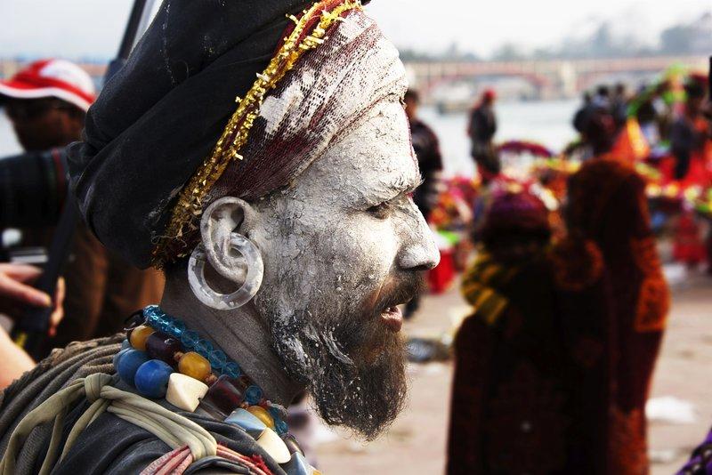 Haridwar Hindu Mo?nch – Bild: Explorer Media