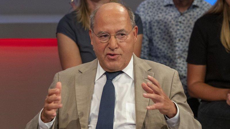 Zu Gast bei Sandra Maischberger: Gregor Gysi, Die Linke (ehemaliger Fraktionschef) – Bild: WDR/Max Kohr