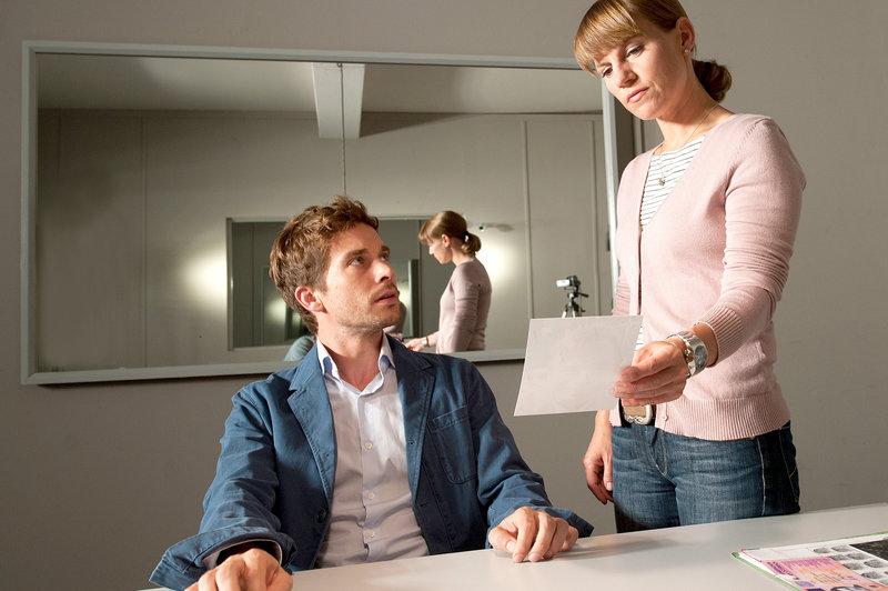 Xaver Uhlenbeck (Nico Rogner) und Karin Kofler (Kristina Sprenger). – Bild: ZDF