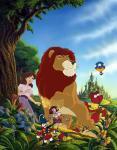Der Löwe von Oz und die magische Blume