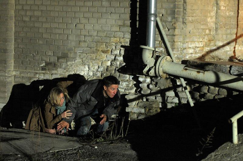 Silvie Kraus (Bernadette Heerwagen), Andi Gruber (Tobias Moretti) – Bild: 3sat
