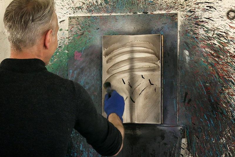 Sternstunde Kunst: Albrecht Schnider - was bleibt Wegwischen SRF/point de vue – Bild: SRF1