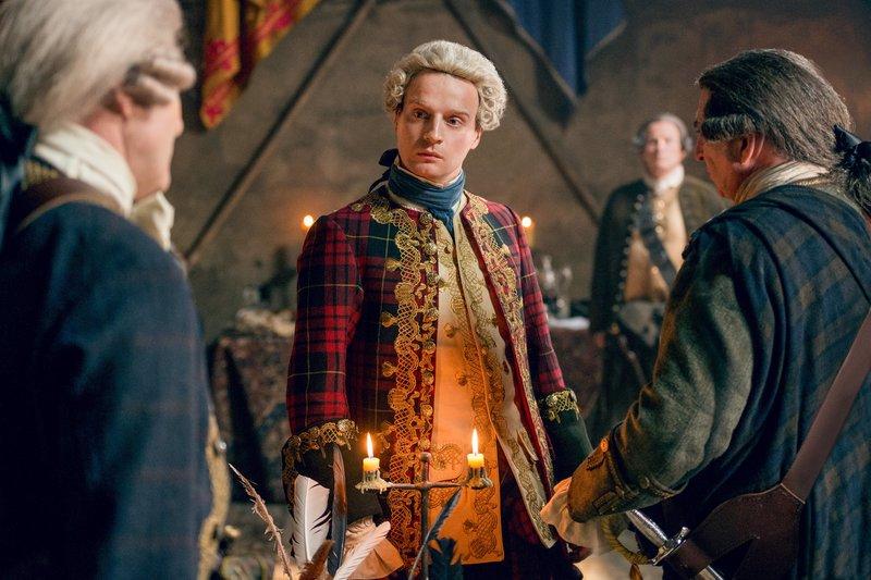 Andrew Gower (Prince Charles Edward Stuart). – Bild: ORF 2
