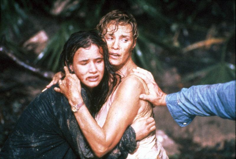 Leigh und Danielle Bowden (Jessica Lange, Juliette Lewis, li.) haben Todesangst.. – Bild: RTL Zwei