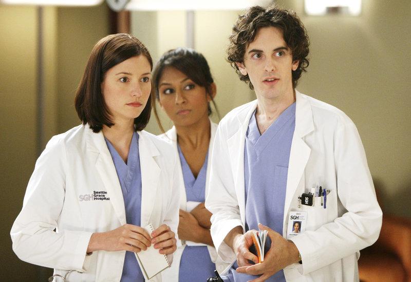 Die neuen Assistenzärzte der Seattle Grace Hospitals: Lexie (Chyler Leigh, l.), Danie (Amrapali Ambegaokar, M.) und Steve (Mark Saul, r.) ... – Bild: Touchstone Television