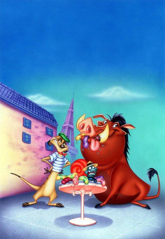 Timon Und Pumbaa Real
