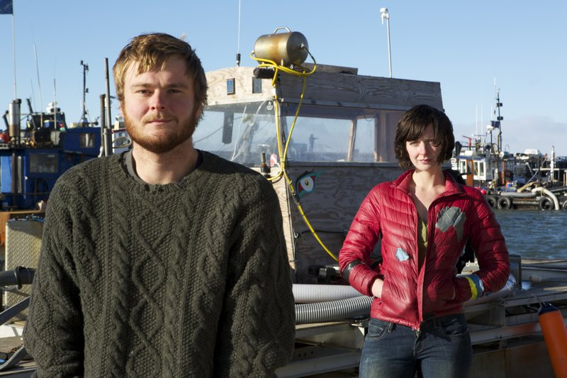 Zeke Tenhoff and Emily Riedel. – Bild: Nicholas Bunker / Discovery Channel / Discovery Communications