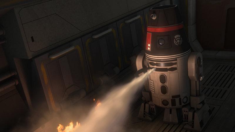 Die Belagerung von Lothal (1) (Staffel 2, Folge 1) – Bild: Disney © Disney•Pixar © & ™ Lucasfilm LTD © Marvel. Alle Rechte Vorbehalten
