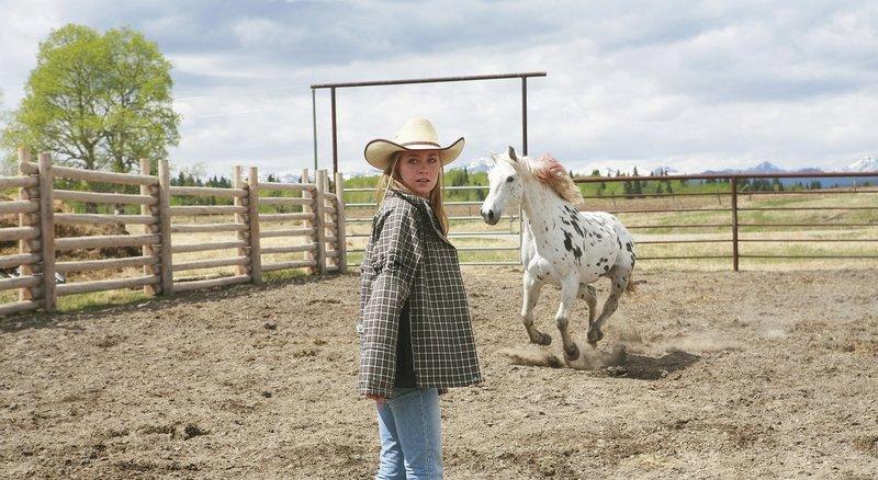 Amy Fleming (Amber Marshall) – Bild: Rescued Horse Season Six Inc. Lizenzbild frei