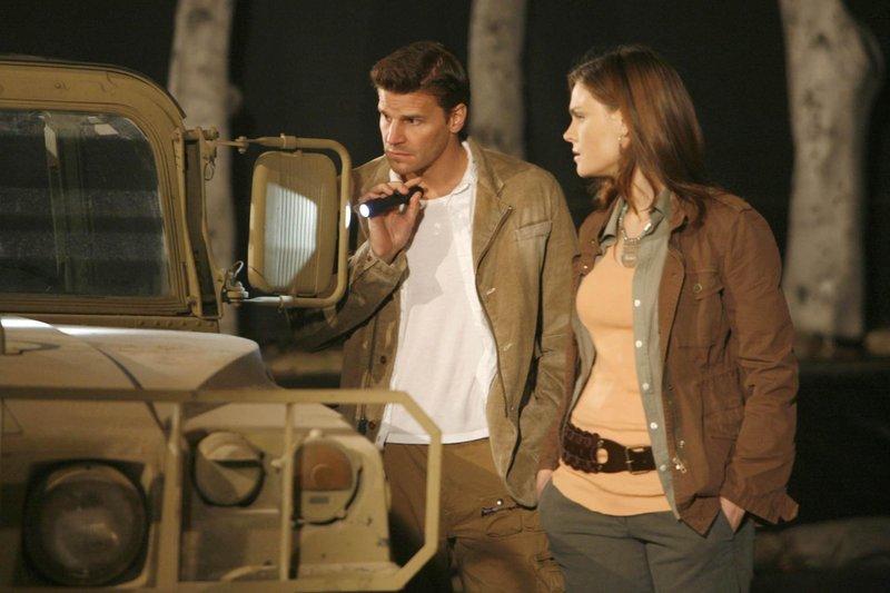 David Boreanaz, Emily Deschanel – Bild: Fox TV