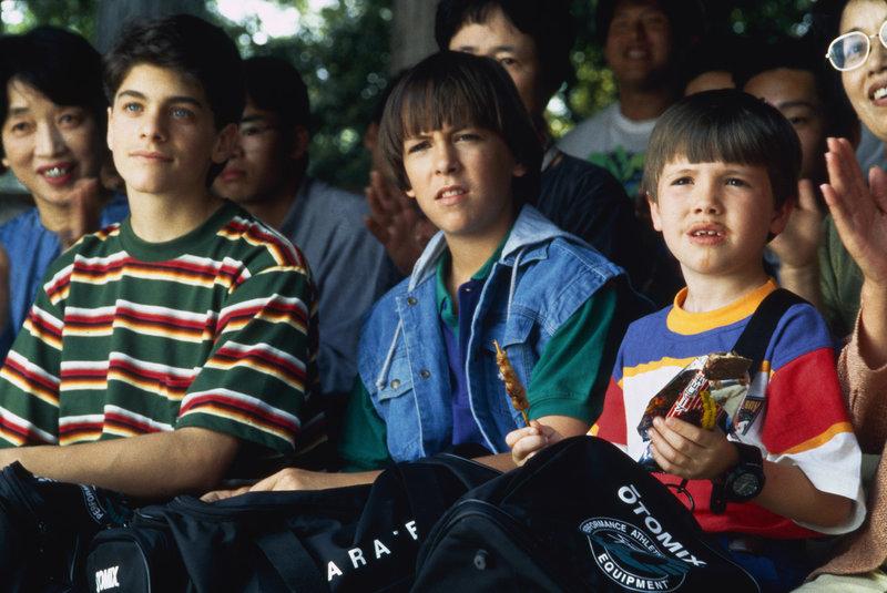 Max Elliot Slade (Jeffrey 'Colt' Douglas), Evan Bonifant (Michael 'Tum Tum' Douglas), Sean Fox (Samuel 'Rocky'Douglas Jr.) – Bild: TV 4