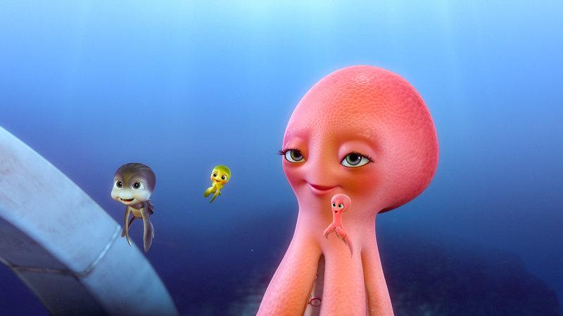 """""""Sammys Abenteuer 2"""", Die Meeresschildkrötenfreunde Sammy und Ray sind um die ganze Welt geschwommen und kommen an den Strand ihrer Familie zurück. Besonders freuen sie sich, ihre frisch geschlüpften Enkel zu sehen. Doch die Wiedersehensfreude währt nicht lange. Sie gehen gierigen Fischern ins Netz und kommen in das größte Meeres-Aquarium der Welt. Gemeinsam mit ihren neu gewonnenen Freunden planen sie die Flucht. Ohne ihre mutigen Enkel Ricky und Ella, die ihnen gefolgt sind, wird ihnen diese aber sicher nicht gelingen. SENDUNG: ORF eins - SO - 01.01.2017 - 07:30 UHR. - Veroeffentlichung fuer Pressezwecke honorarfrei ausschliesslich im Zusammenhang mit oben genannter Sendung oder Veranstaltung des ORF bei Urhebernennung. Foto: ORF/Studio Canal. Anderweitige Verwendung honorarpflichtig und nur nach schriftlicher Genehmigung der ORF-Fotoredaktion. Copyright: ORF, Wuerzburggasse 30, A-1136 Wien, Tel. +43-(0)1-87878-13606 – Bild: ORF"""