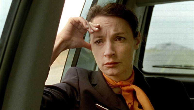 ARD/WDR IM ALTER VON ELLEN, Ein Film von Pia Marais, am Sonntag (31.05.15) um 23:30 Uhr im ERSTEN. Flugbegleiterin Ellen (Jeanne Balibar) hat bei der Arbeit einen Zusammenbruch erlitten und wird daraufhin vom Dienst suspendiert. – Bild: WDR/Pandora Film