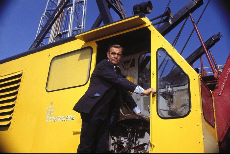James Bond 007 - Diamonds Are Forever Sean Connery HP – Bild: ATV