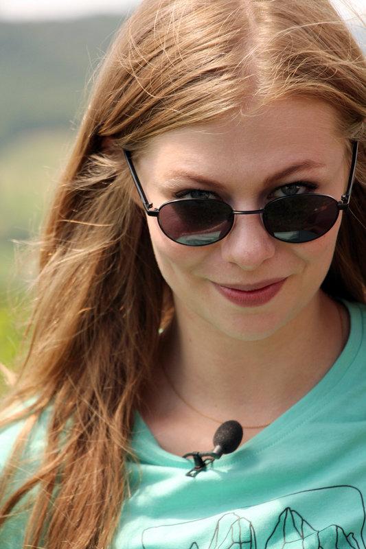 Zoe Straub. – Bild: ORF III
