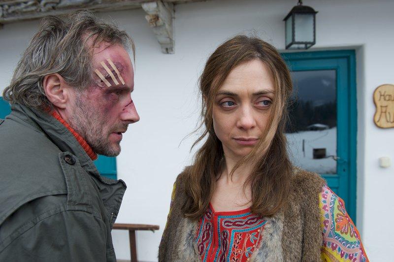 Felix Nordegg (Wolfram Koch) und Maja Nordegg (Julia Richter). – Bild: ZDF und Bernd Schuller