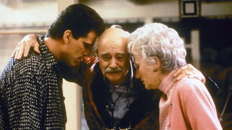 John (Ted Danson, li.), Dad (Jack Lemmon) und Bette Tremont (Olympia Dukakis) – Bild: RTL II