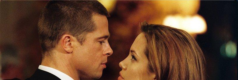 Brad Pitt (John Smith), Angelina Jolie (Jane Smith). – Bild: ORF