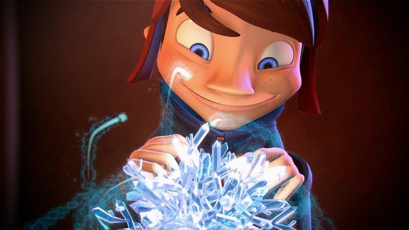 Jonas schafft es den Zauberkristall zurückzuholen und Weihnachten zu retten. – Bild: SUPER RTL