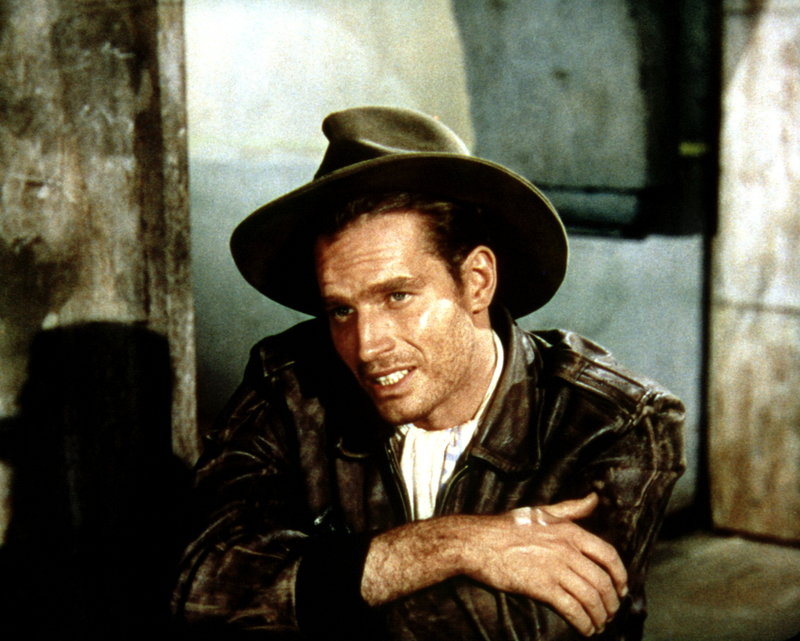 Der Ex-Pilot Steele (Charlton Heston) ist auf der Suche nach der wertvollen 'Sonnenscheibe' - dem Schlüssel zum Schatz der Inkas ... – Bild: 1989 Universal City Studios. All Rights Reserved Lizenzbild frei