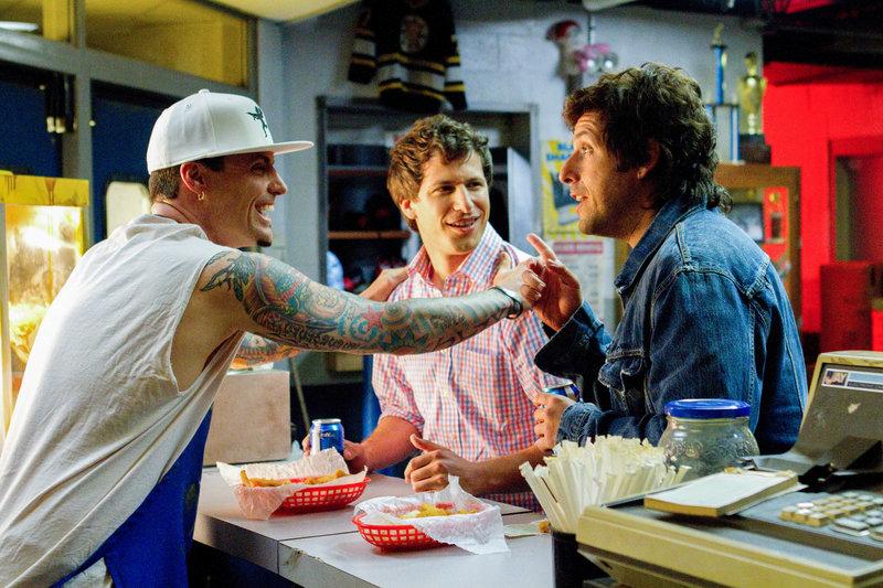 Vanilla Ice, Andy Samberg (Todd), Adam Sandler (Donny). – Bild: ORF