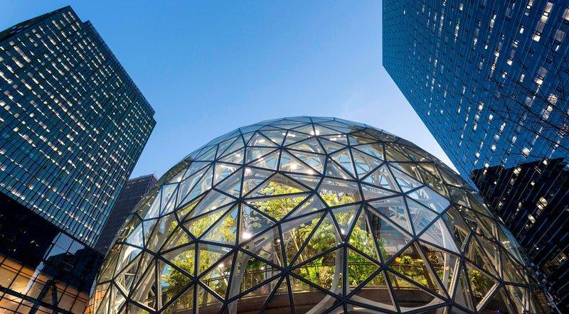 Seattle, Bundesstaat Washington, (USA), der Amazon Urban Campus - Zentrale des Onlinehändlers. – Bild: ORF
