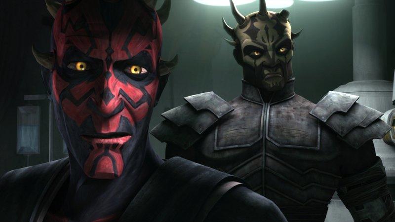 Darth Maul und Savage Opress (v.l.) sind nach Zandar gebracht worden. – Bild: TOGGO plus