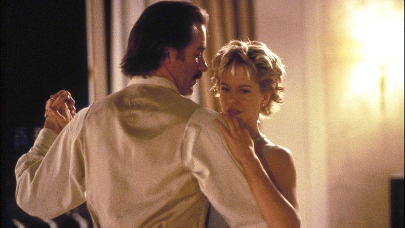 Der charmante Macho Luc (Kevin Kline) und Kate (Meg Ryan) kommen sich langsam näher..Der charmante Macho Luc (Kevin Kline) und Kate (Meg Ryan) kommen sich langsam näher.. – Bild: © Polygram Film Productions BV 1995