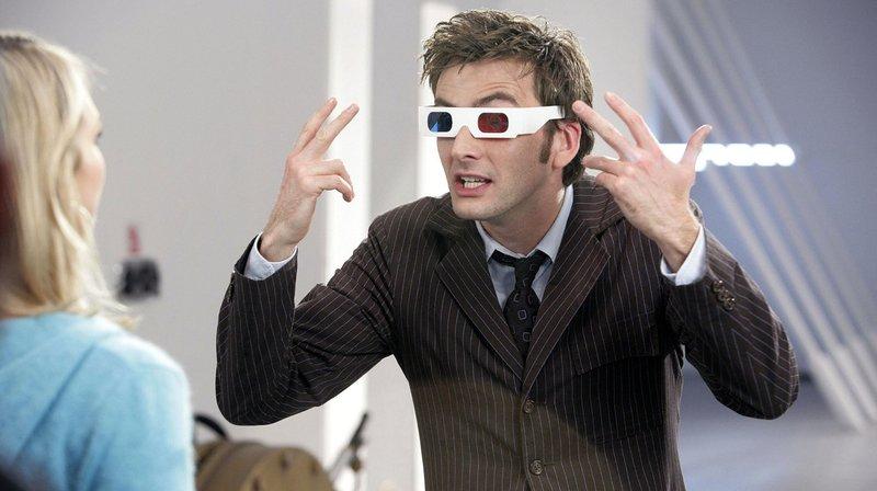 Rose (Billie Piper) und Doctor Who (David Tennant) – Bild: WDR/BBC