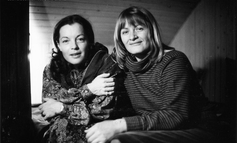 Romy Schneider, Alice Schwarzer. – Bild: Les bons clients / Gabriele Jakobi