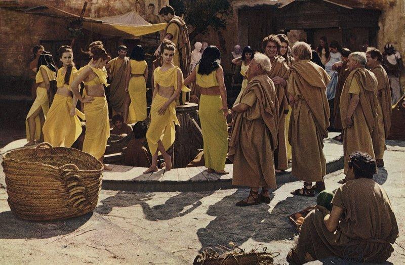 sklavenmarkt im antiken rom