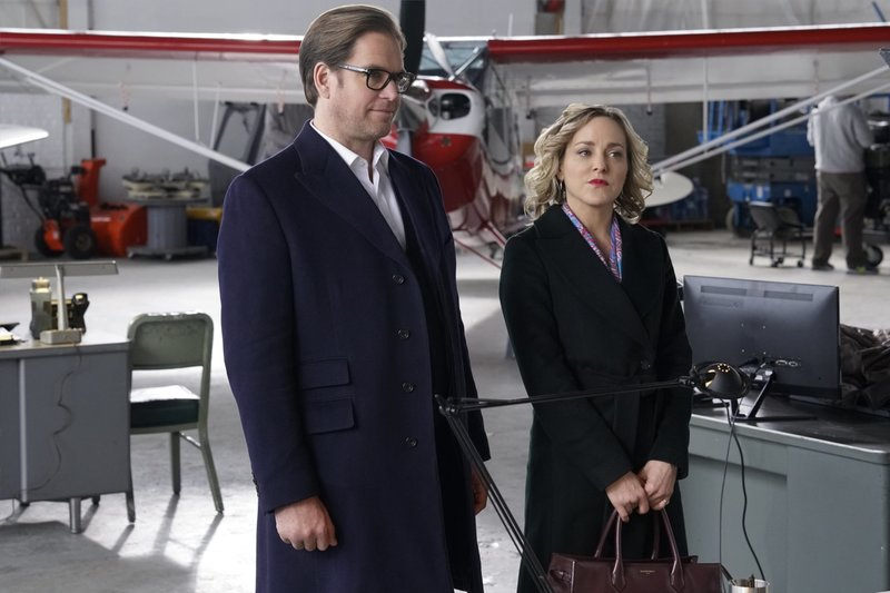 Pictured L-R: Michael Weatherly as Dr. Jason Bull and Geneva Carr as Marissa Morgan. – Bild: 13th Street