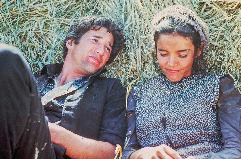 Ausruhen von der harten Landarbeit: Bill (Richard Gere) und Abby (Brooke Adams) – Bild: arte