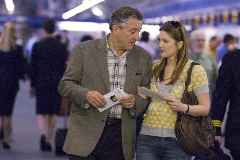 Robert De Niro (Frank Goode), Drew Barrymore (Rosie). – Bild: ORF