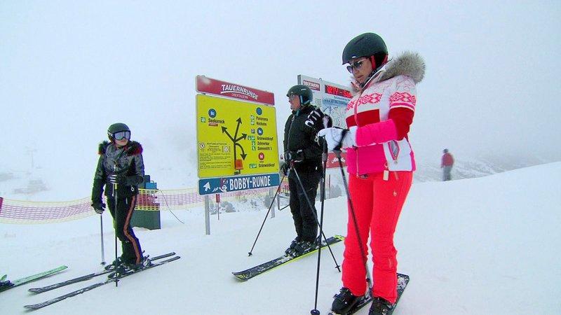 Die Geissens beim Skifahren in Obertauern – Bild: RTL II