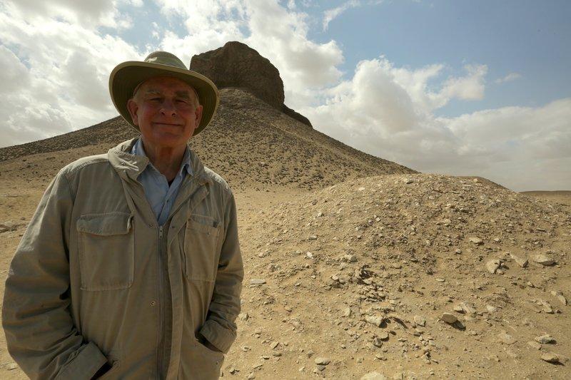 In der kargen Wüste Nord-Ägyptens entdeckte ein Forschungsteam eine Pyramide mit einer versiegelten Grabkammer. Wenn Archäologen sie öffnen, kommt ein antiker Tatort zum Vorschein. Die Verwendung des sendungsbezogenen Materials ist nur mit dem Hinweis und Verlinkung auf TVNOW gestattet. – Bild: TVNOW
