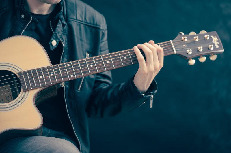 Acoustic Guitar – Bild: CC0 Public Domain. Free for commercial use. No attribution required