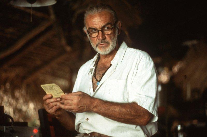 Tief im undurchdringlichen südamerikanischen Regenwald arbeitet Dr. Robert Campbell (Sean Connery) an einem Heilmittel gegen Krebs. – Bild: ATV II