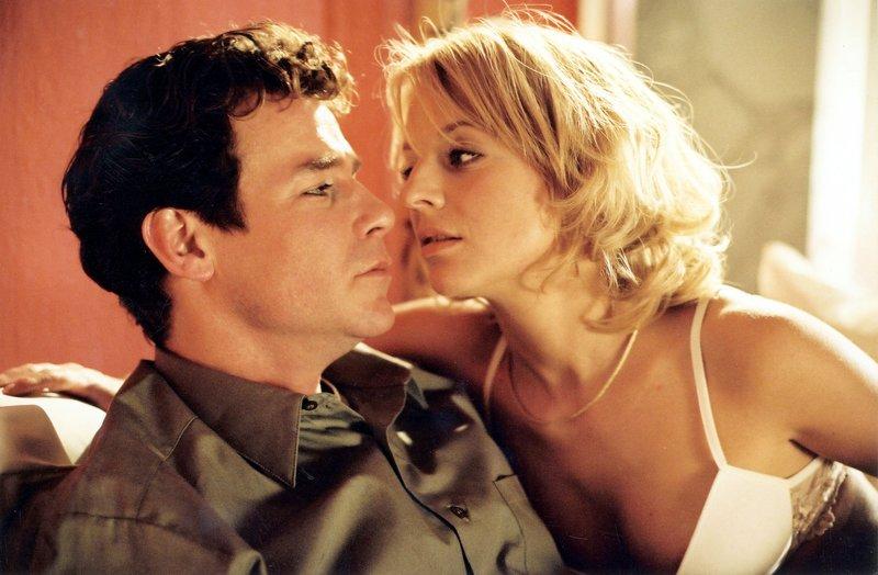 David (Tim Williams), Carmen (Katrin Weisser). – Bild: ORF