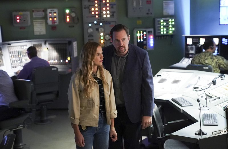 Ellie Bishop (Emily Wickersham, l.); Timothy McGee (Sean Murray, r.) – Bild: 2018 CBS Broadcasting, Inc. All Rights Reserved/Sonja Flemming Lizenzbild frei