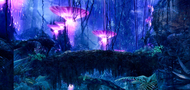 der Planet Pandora – Bild: ORF