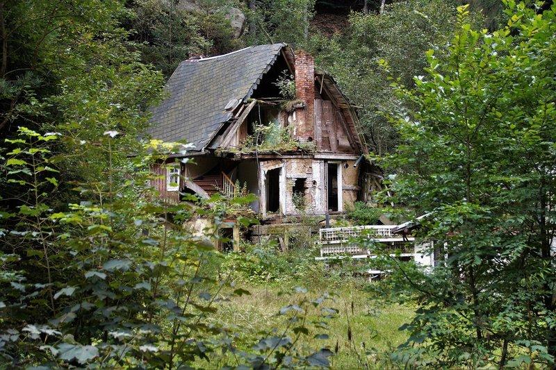 Verlassene Gebäude Bayern