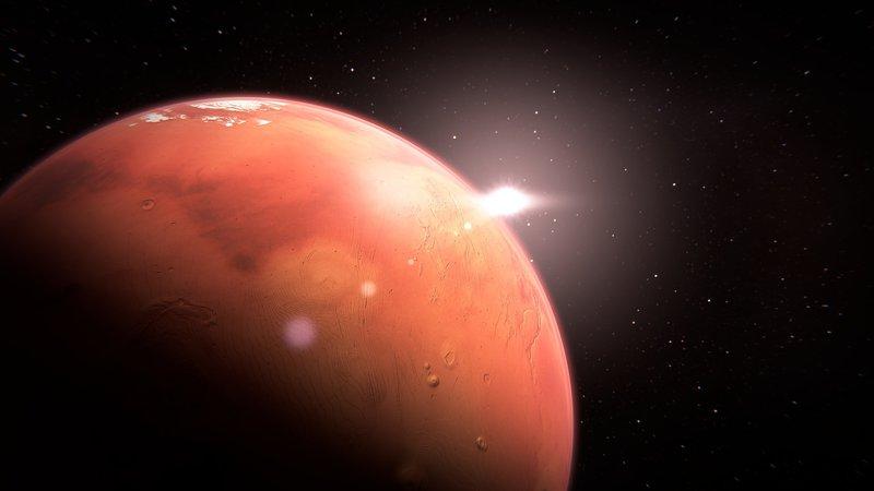 Mars – Bild: CC0 Public Domain