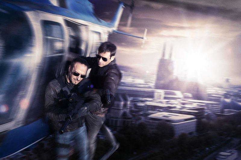 Semir Gerkhan (Erdogan Atalay, l.) und Alex Brandt (Vinzenz Kiefer) – Bild: RTL / Gordon Mühle