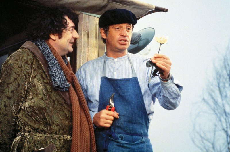 Camille (Julien Guiomar, l.) und Victor Vauthier (Jean-Paul Belmondo) – Bild: RTL NITRO