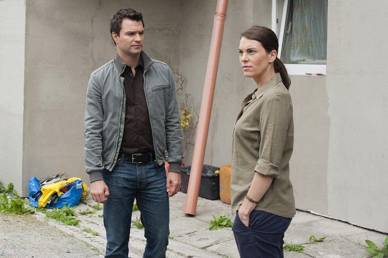 Lukas Roither (Jakob Seeböck) und Birgit Denner (Victoria Mayer) – Bild: ZDF und Stefanie Leo