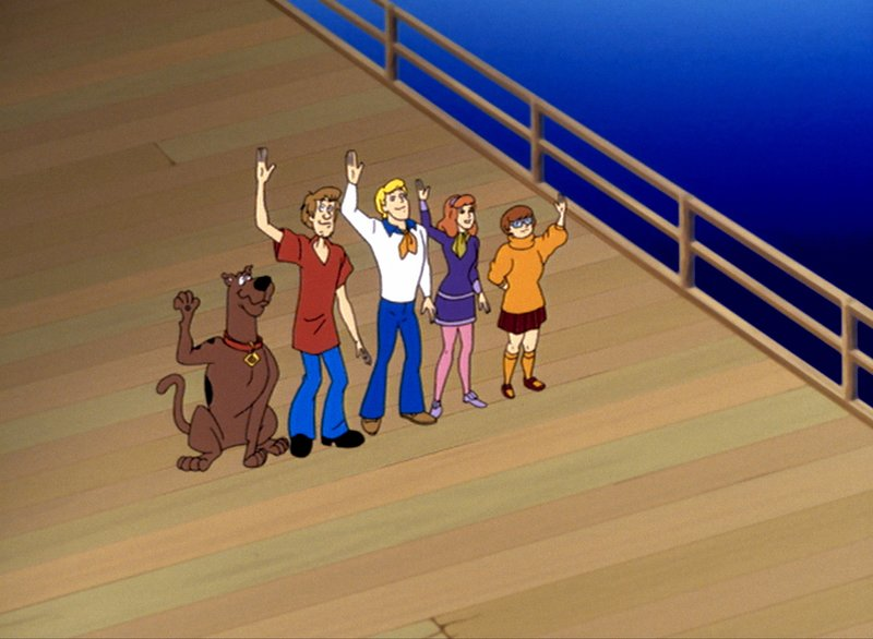 Scooby-Doo und die Cyber-Jagd (Folge 4) – Bild: Turner / Copyright (c) Warner Bros. All Rights Reserved.