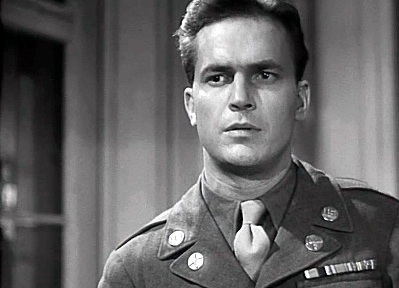 Soldat mit Herz - Ralph Meeker als allierter Militärpolizist Willam Long. – Bild: ZDF und Lindtberg/Schweizer/SF DRS