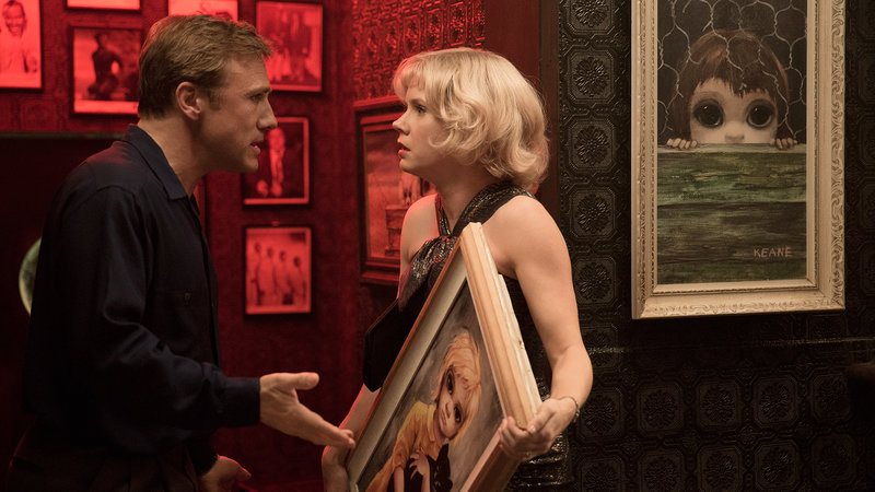 Amy Adams as Margaret Keane and Christoph Waltz as Walter Keane – Bild: 2014 Cinéart. All Rights Reserved.